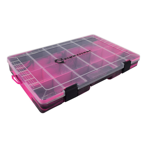 Evolution Outdoor Drift Series 3700 Tackle Tray Closed
