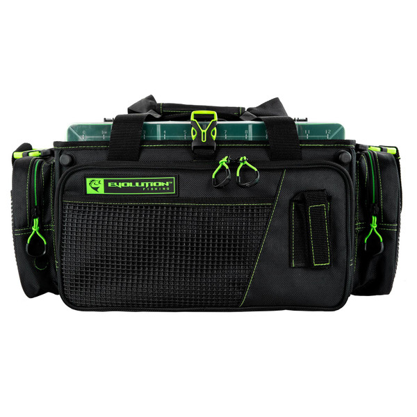 Evolution Outdoor Drift Series Topless Horizontal 3700 Tackle Bag Front